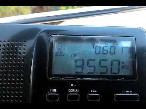 (Es) 95.5 Radio Diyor, Isfara. Tajikistan 1688km