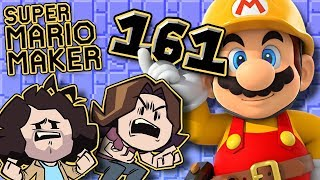 Super Mario Maker:  Peanut Floors - PART 161 - Game Grumps