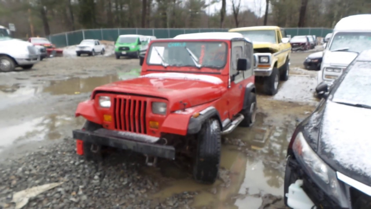 sale retailer c2c38 e9aa7 Parting out 1994 Jeep Wrangler   Stock # M90417
