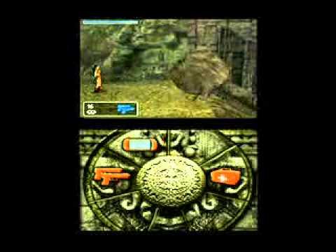 Tomb Raider Legend Nintendo Ds Gameplay 1 Youtube