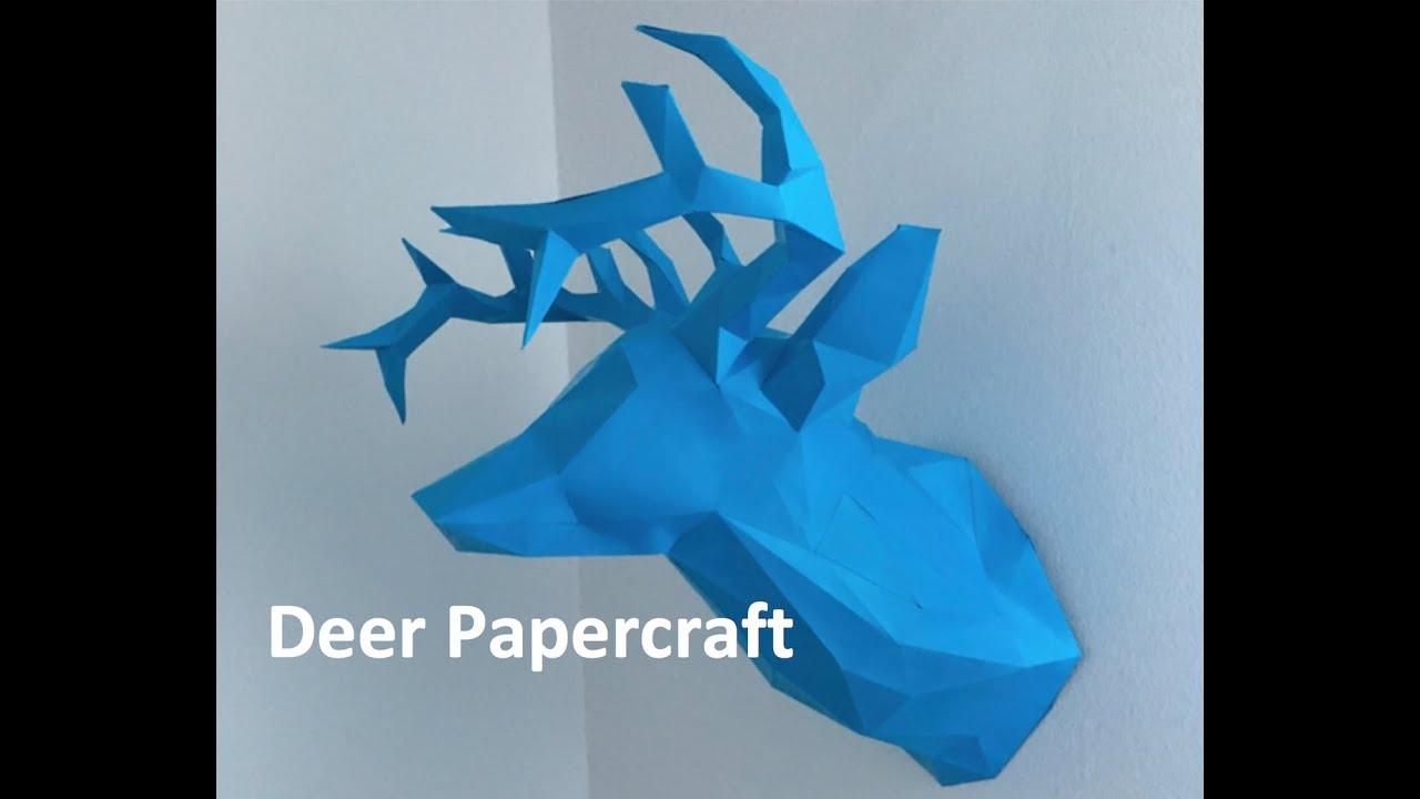 Papercraft Deer Papercraft