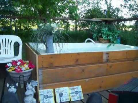 SHAZIZZ'S REDNECK HOT TUB ! - YouTube