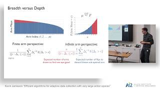 Kevin Jamieson: Efficient Algorithms for Adaptive Data Collection with Very Large Action Spaces