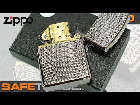Zippo armor ebony lighter