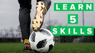 UNISPORT | 5 cool football skills for training | Impress your coach and teammates