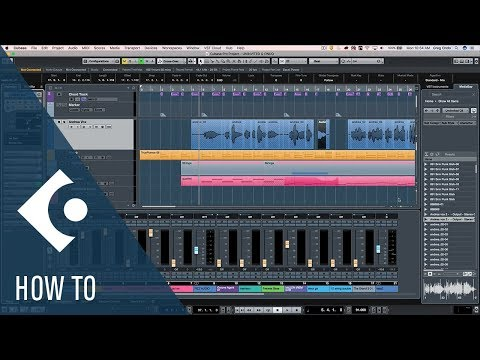 How to Replace an Audio File with Numerous Edits in Cubase | Q&A with Greg Ondo
