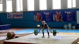 Чемпионат Липецкой области по тяжелой атлетике 2017, девушки