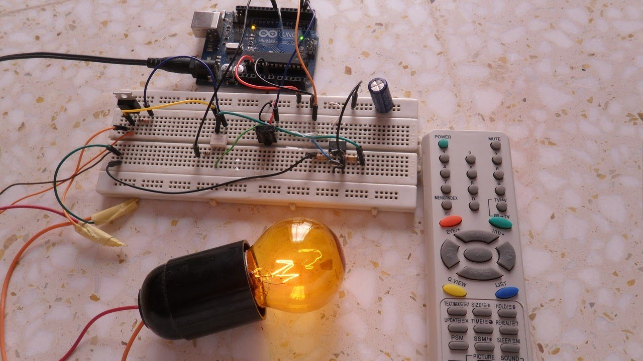 Arduino Ir Remote Controlled Light Dimmer Youtube Ac Circuits Circuit Scr