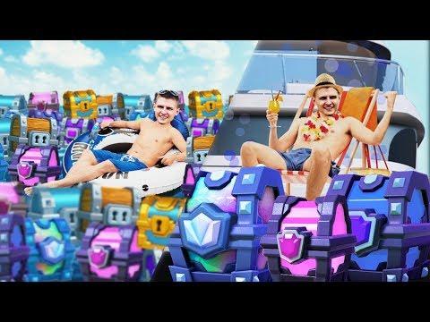ХОЛДИК ЛЮБИТ СУНДУКИ - КЛИП Clash Royale   700К НА КАНАЛЕ  