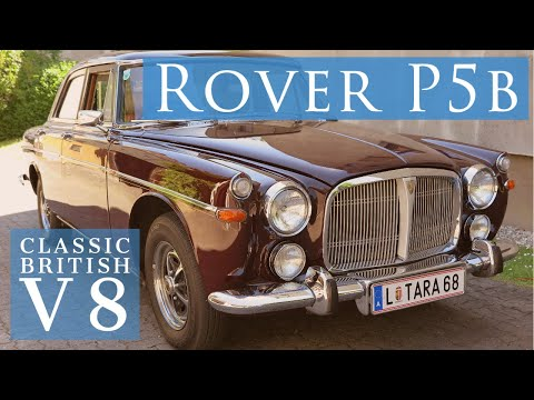 Classic British Rover P5b - What's It Like To Drive?