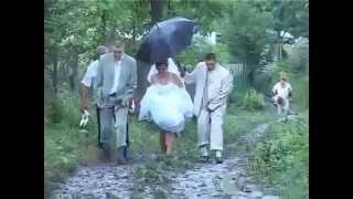 Пьяная  невеста!!!! ржачь