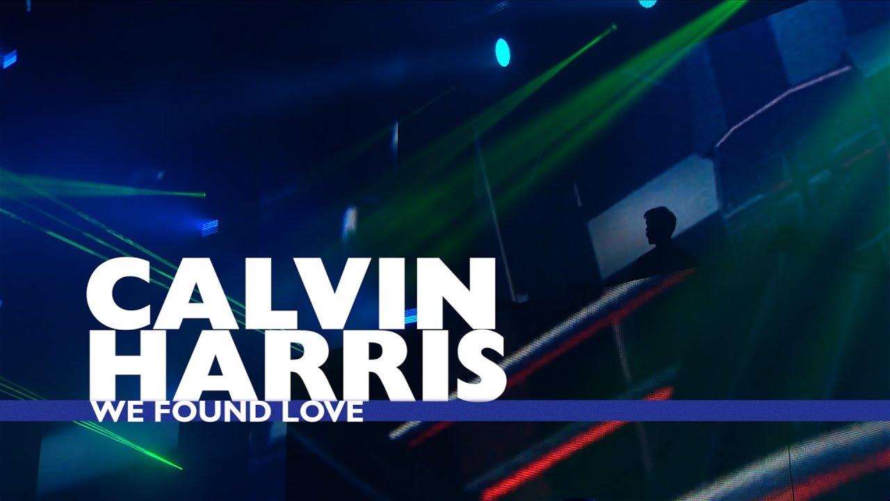Calvin Harris We Found Love Live At Capital S Jingle Bell Ball 2016