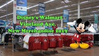 Shopping Disney's Walmart NEW 2019 Merch Vineland Location