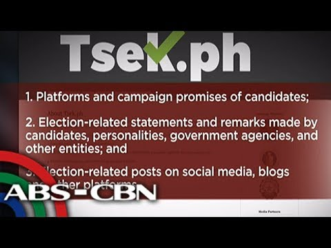 Bandila: HALALAN 2019 - Website kontra 'fake news', inilunsad