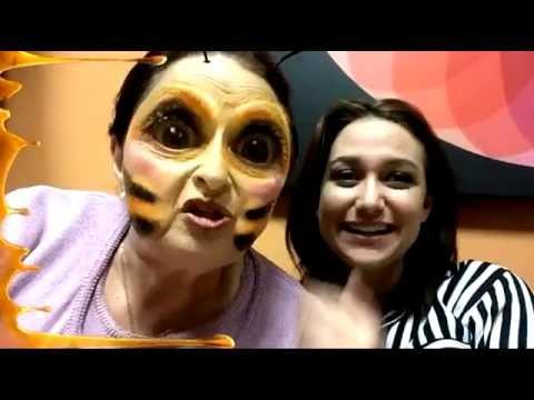 MP - Maria Pinna, Ohana Homem e Mira Haar brincando com os filtros do Snap