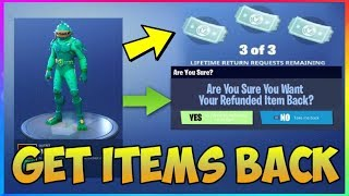 Fortnite: How To REFUND MORE THAN 3 TIMES! (Fortnite Battle Royale) Test