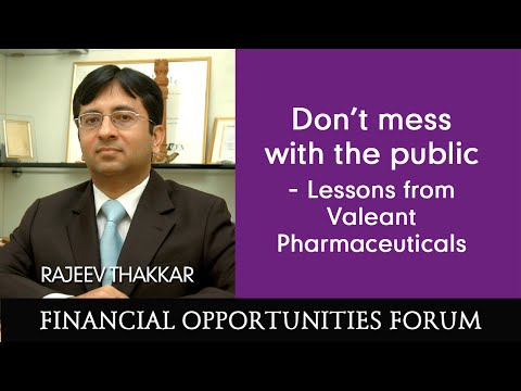Don't mess with the public - Lessons from Valeant Pharmaceut
