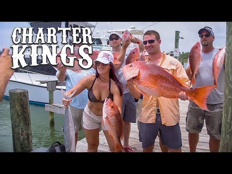 Red Snapper Fishing In Orange Beach, Alabama