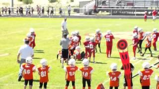 HG headhunters vs Lone Oak 9-12-15  3/4 grade