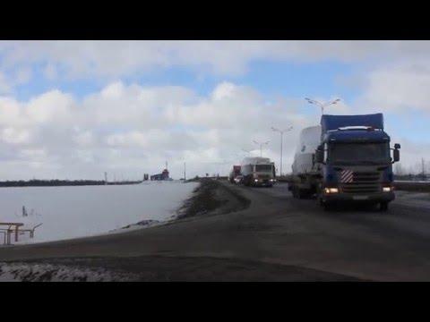 Сопровождение негабарита - перевозка катеров Velvette Москва - Казань