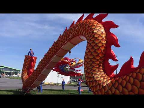 Dragon display complete at NYS Chinese Lantern Festival (video, photos)