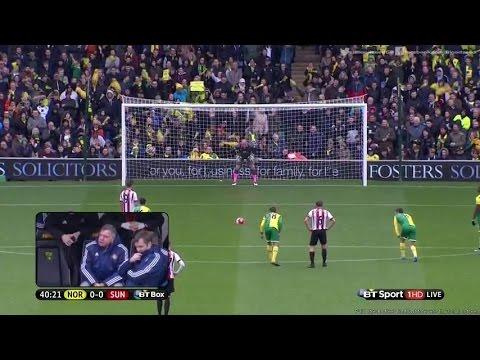 Norwich City Vs Sunderland ( 0 - 3 ) Highlights | 16 April 2016 | Premier League
