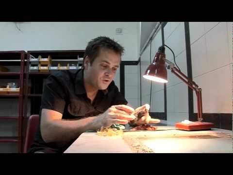 Gem Collector Drew explaining Gemstone Rough