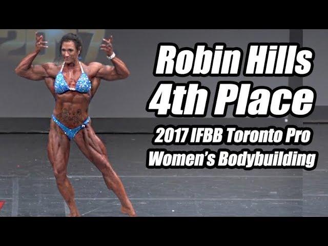 2017 IFBB Toronto Pro: Womens Bodybuilding, Robin Hills 4th Place
