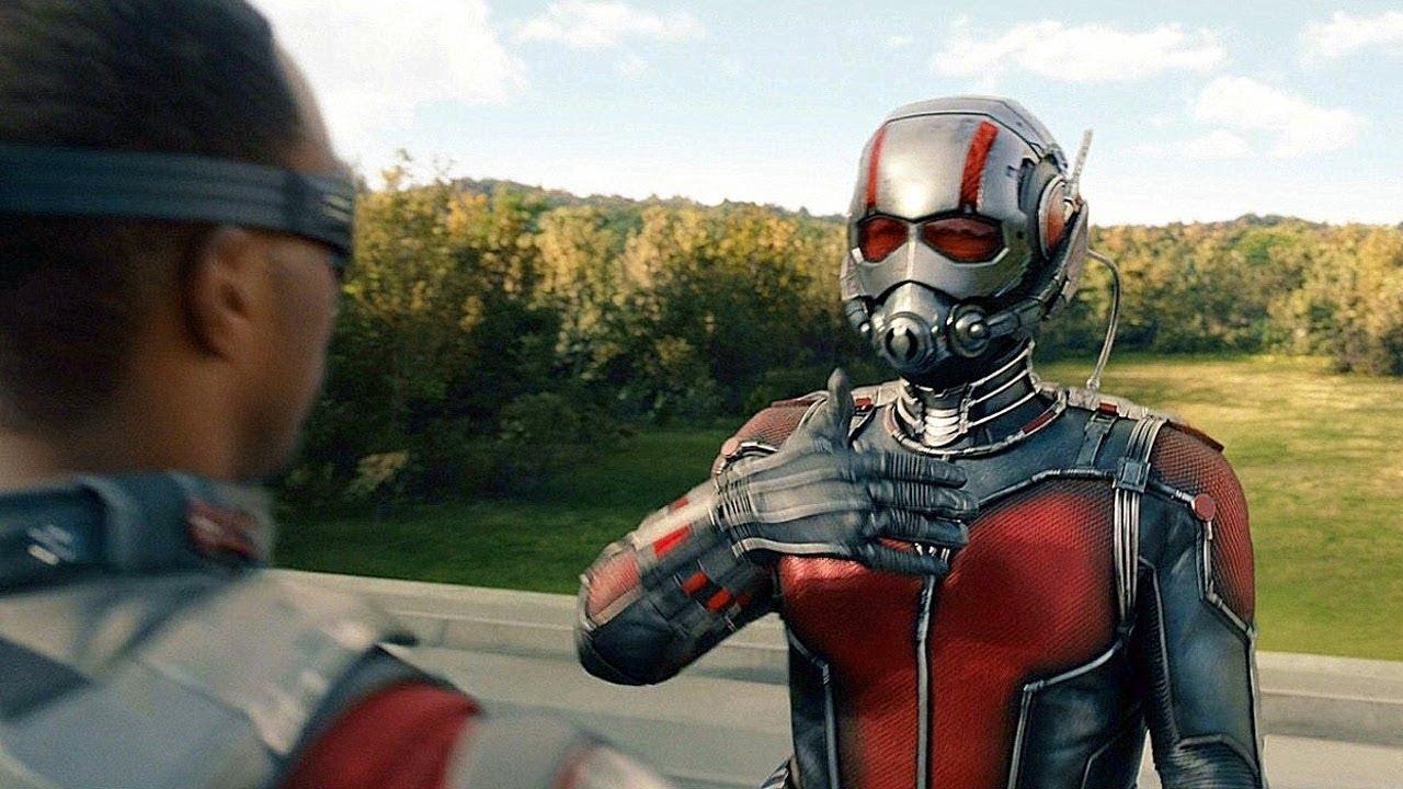 Download Ant-Man vs Falcon - Fight Scene - Ant-Man (2015) Movie CLIP HD