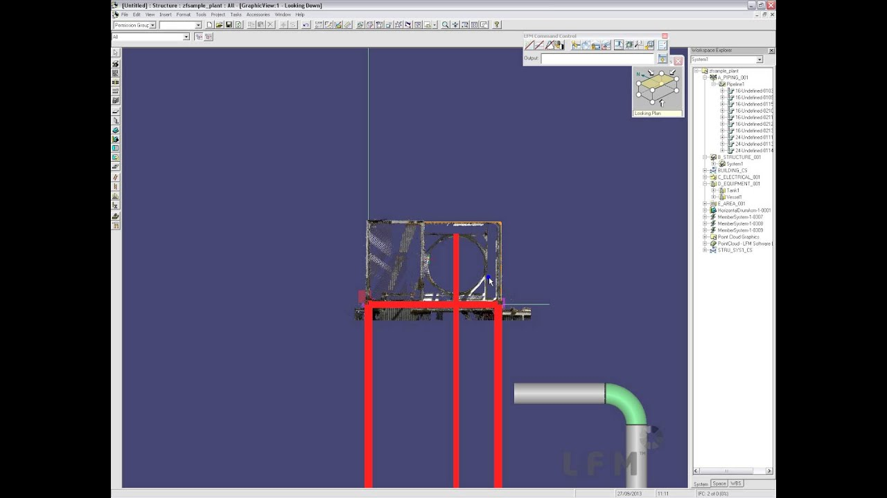 SP3D Structural Modelling - YouTube