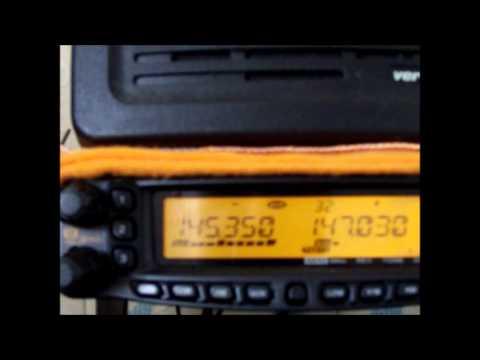 Radioamadores em ação