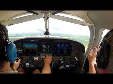 Flight Lesson 6-29-13 - Warrior III - Class D Controlled Airspace