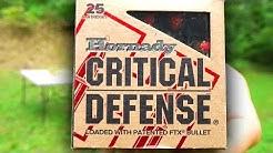 Hornady CRITICAL DEFENSE Ballistics Gel Tests