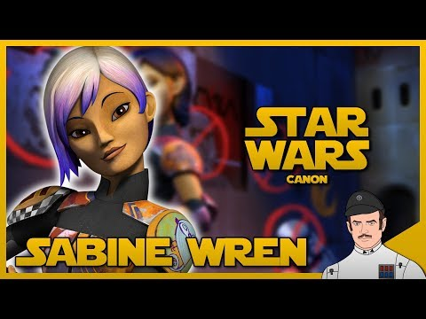 Star Wars Lore - The History of Sabine Wren (Canon)