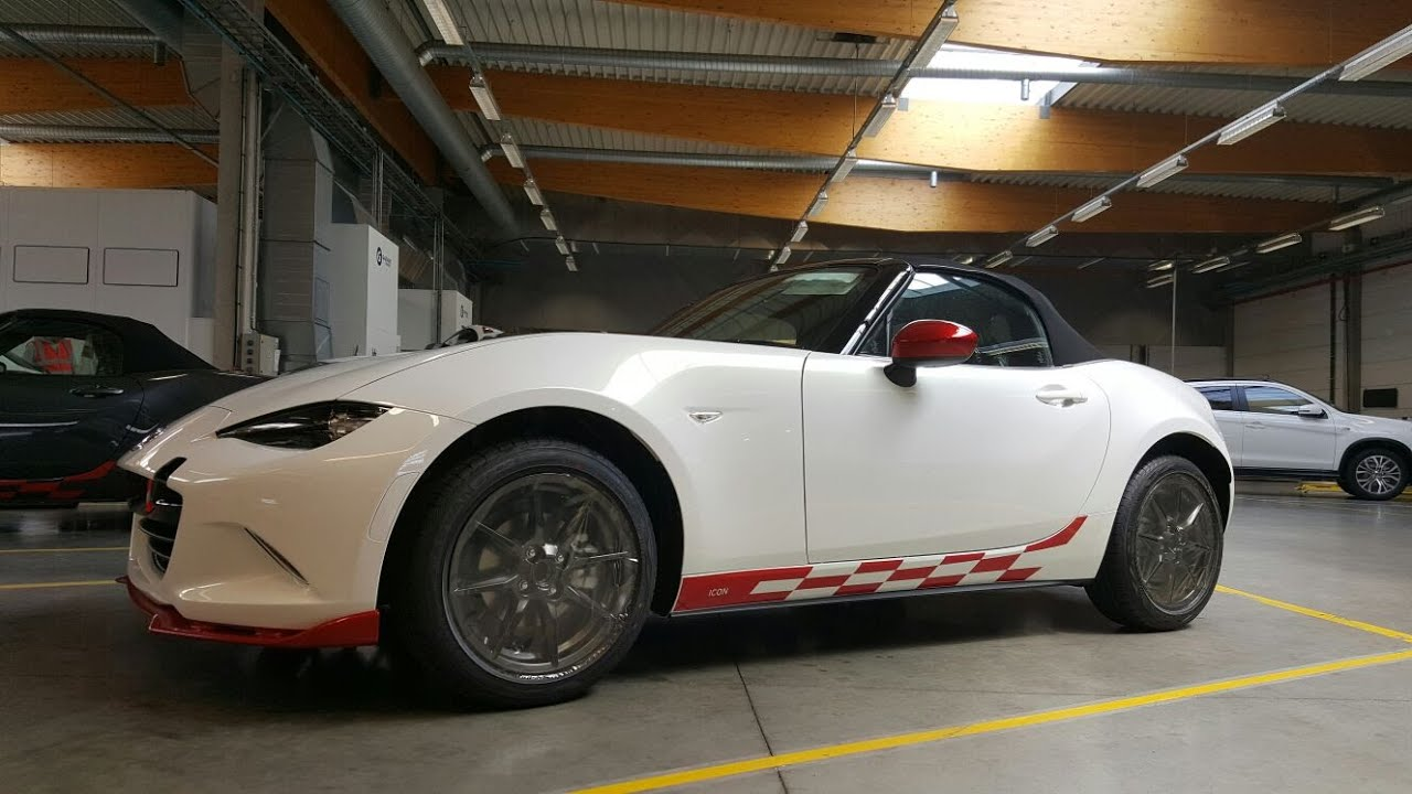 Mazda mx 5 icon decal fitting guide