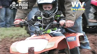 Kids ATV Mud Bog Reedy WV October 4 2014