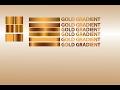 Golden Gradient in illustrator CC 2017