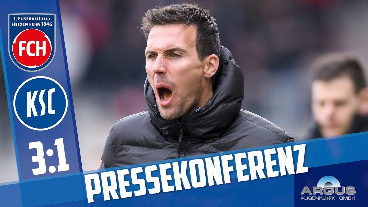 Download Pressekonferenz nach Heidenheim (25. Spieltag)
