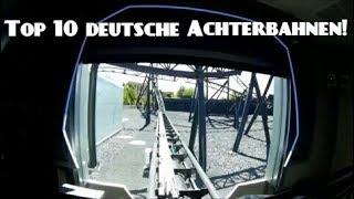 Top 10 Achterbahnen Deutschland 2017 Onride Hd Pov