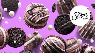 How To Make Cookies & Cream Macarons - The Scran Line