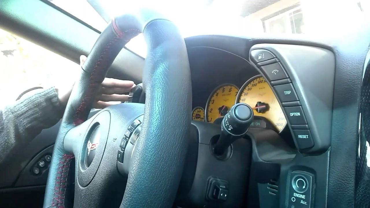 My C6 Corvette Interior Modifications Youtube