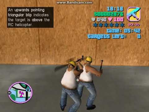 GTA Vice City Stories Walkthrough #9 Demolition Man
