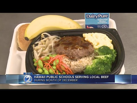 State incorporates local beef in school lunches as part of ongoing initiative