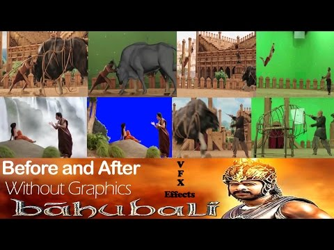 Making of Bahubali movie || All VFX effects || Graphics