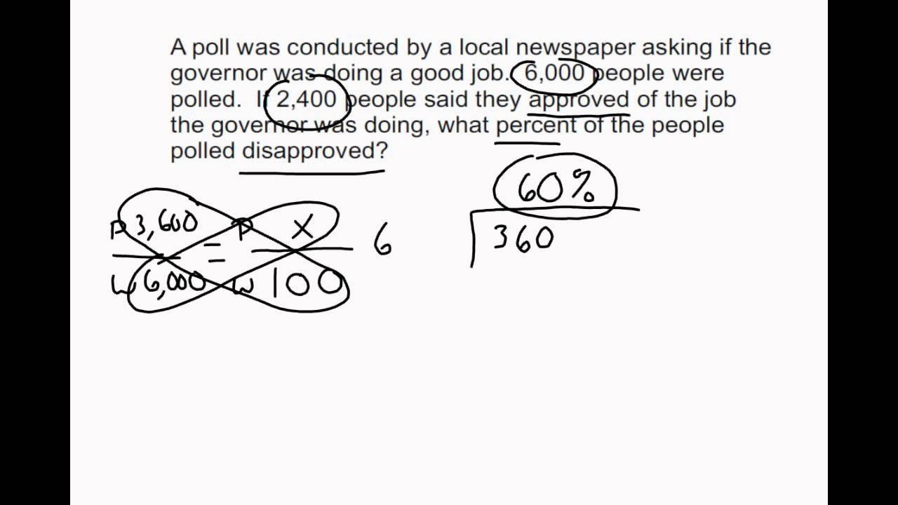 small resolution of 6th Grade Math Word Problems - Percentages (solutions
