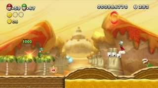 New Super Mario Bros U - 100% Walkthrough Co-op - Parte 04 di 22