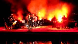 Isabelle Boulay en concert à Agde dans l'Hérault le 22 juillet 2013 (2)