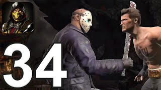 Mortal Kombat Mobile - Gameplay Walkthrough Part 34 - Tower 44 (iOS, Android)
