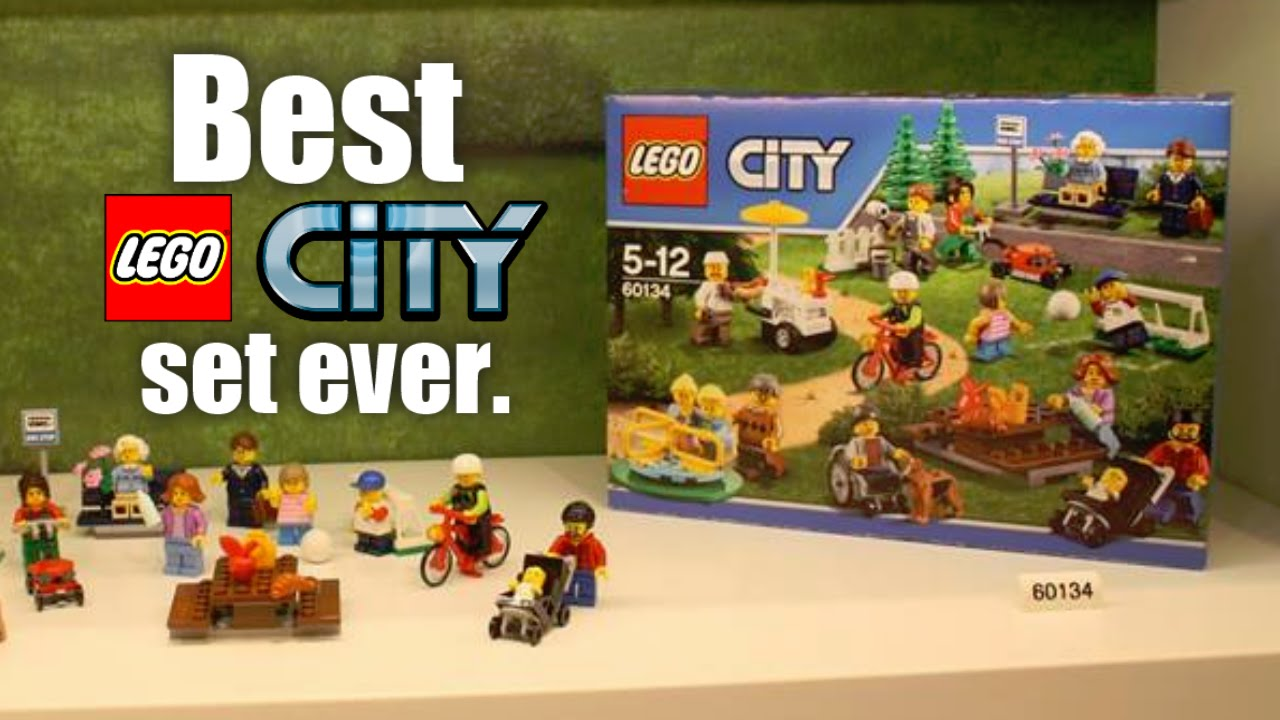 The LEGO City Fun at the Park 2016 set is the best LEGO City set EVER