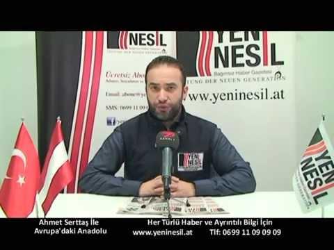 25 Ocak Avrupa'daki Anadolu Avusturya'dan Haber Başlıkları